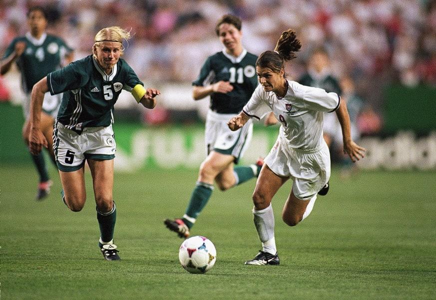 Mia Hamm 1999 Women's World Cup
