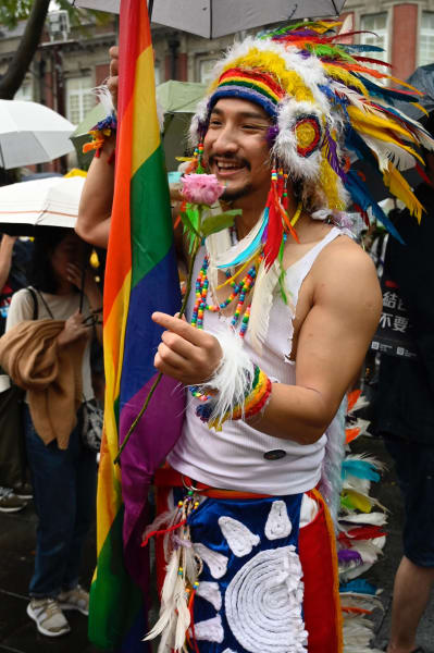 Taiwan gay rights supporters 03
