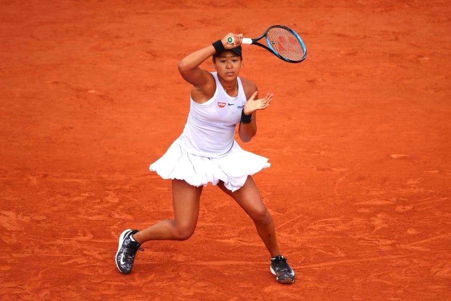 Naomi Osaka Victoria Azarenka French Open