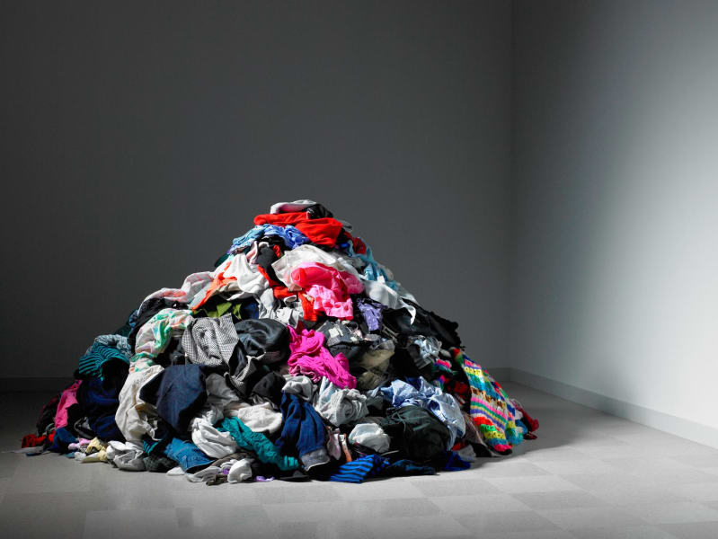 Greenhouse gas emissions from clothing industry