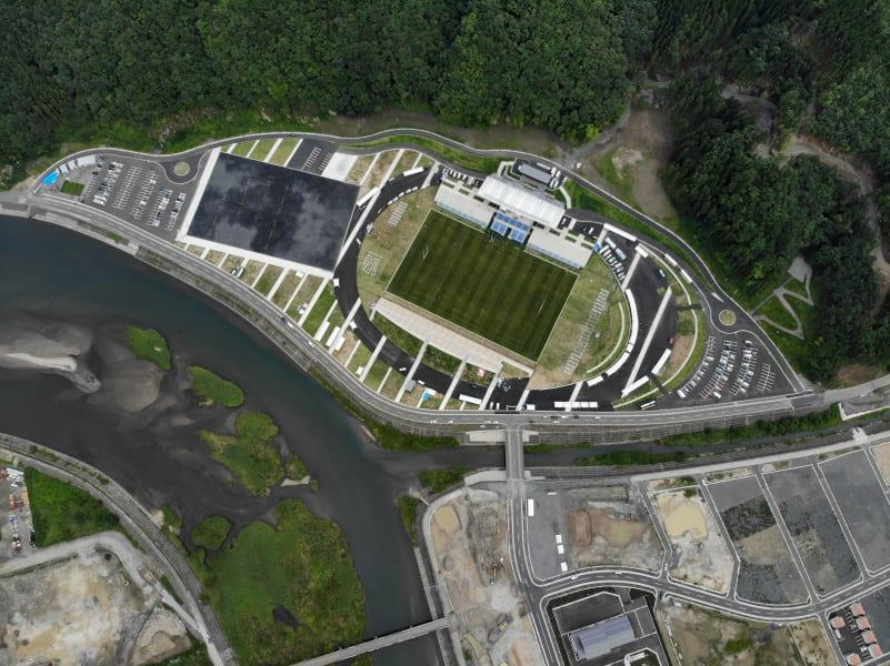 kamaishi stadium aerial
