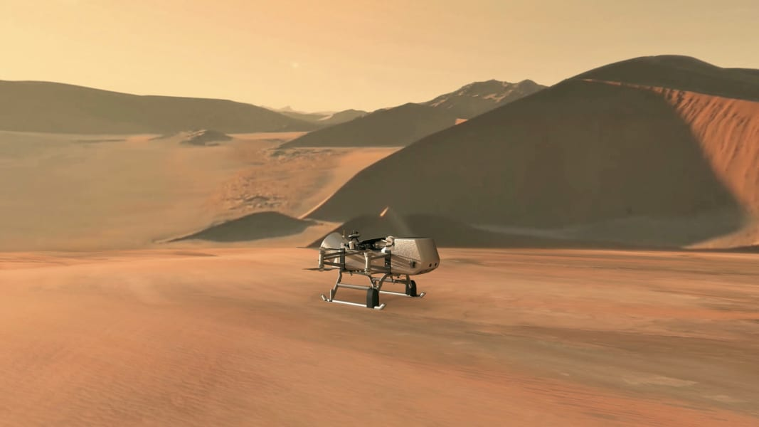 NASA's Dragonfly rotorcraft-lander