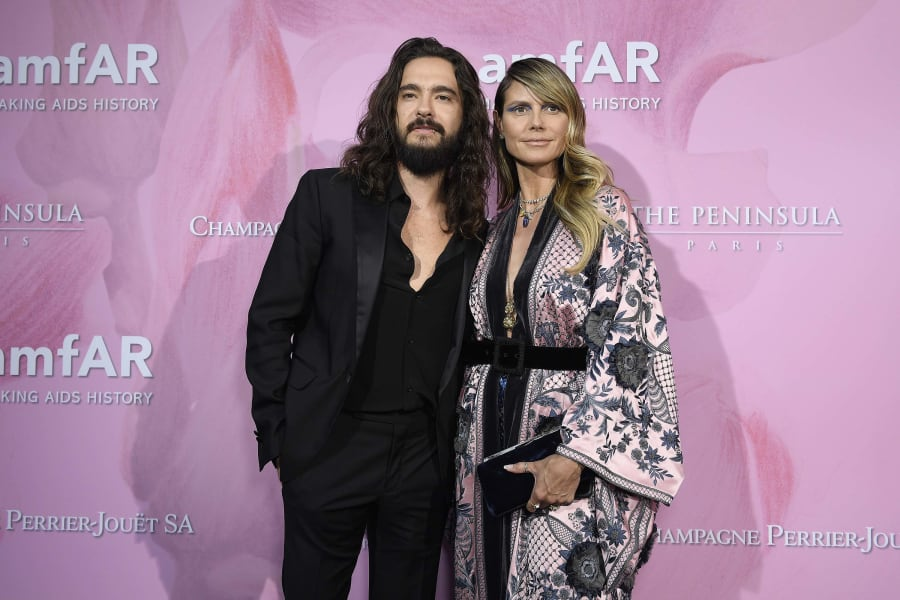 Tom Kaulitz Heidi Klum FILE