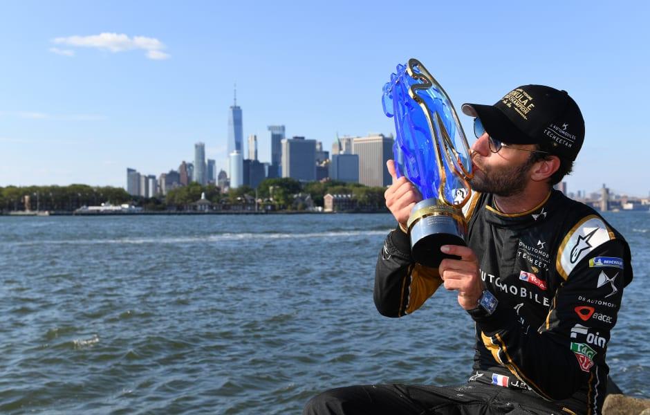 vergne championship trophy