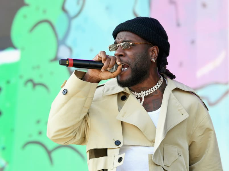 Burna Boy at coachella 2019