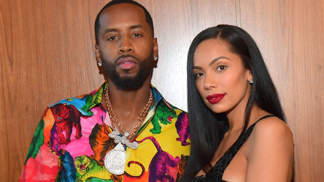 01 Erica Mena and Safaree FILE