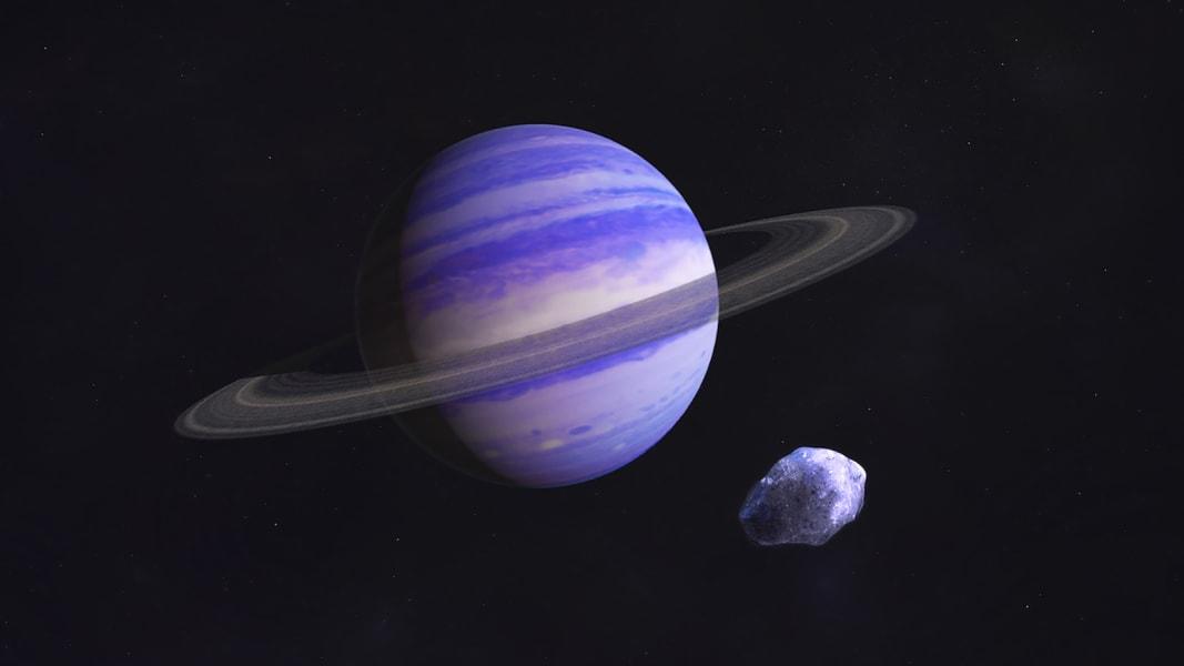 exoplanets rendering