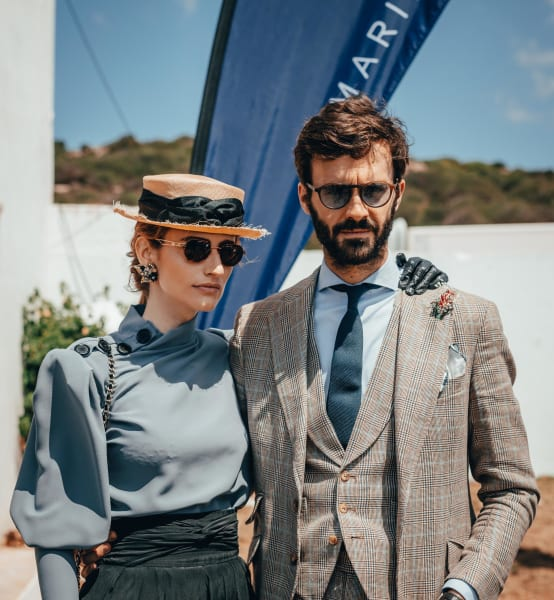 spanish royal ascot racegoing couple