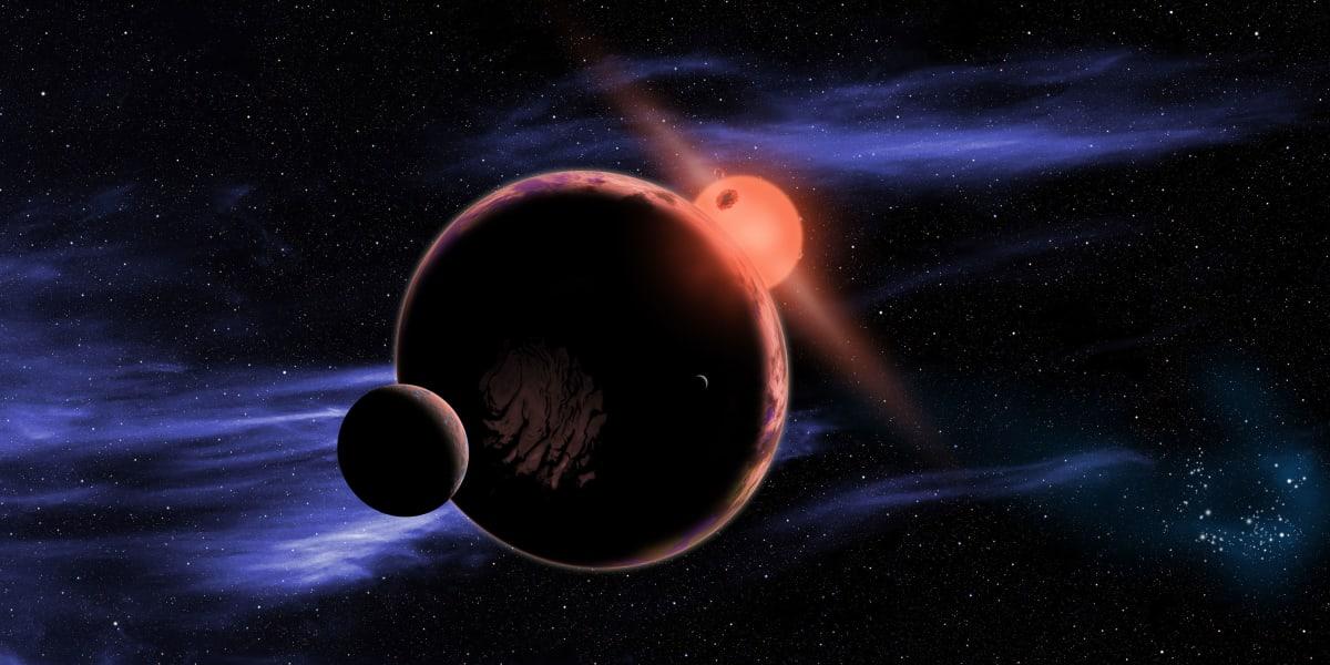 red dwarf star exoplanet 1111