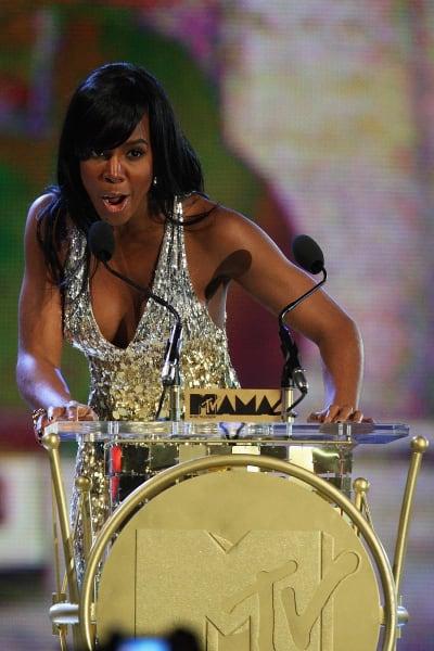 Kelly Rowland in Abuja