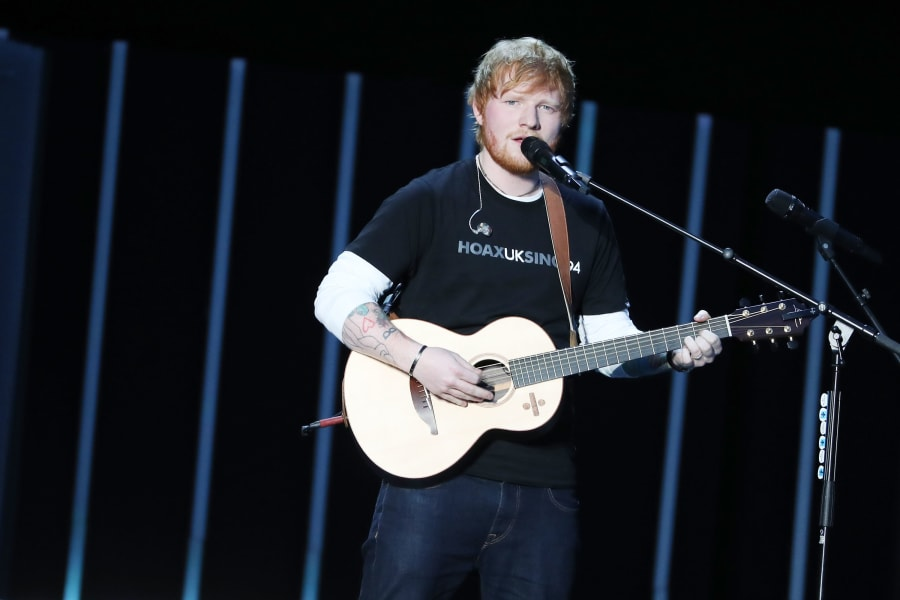Ed Sheeran GCF