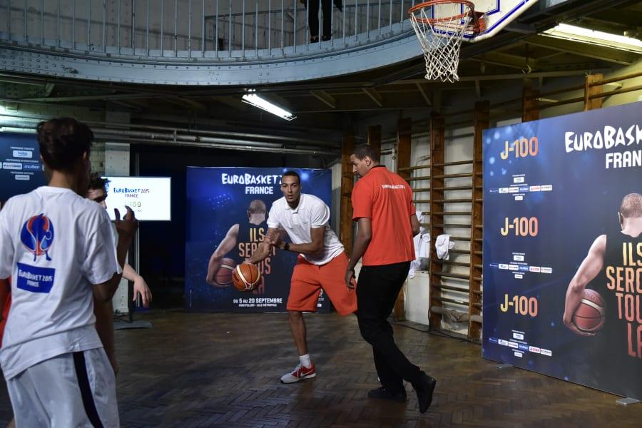 basketball rudy gobert france