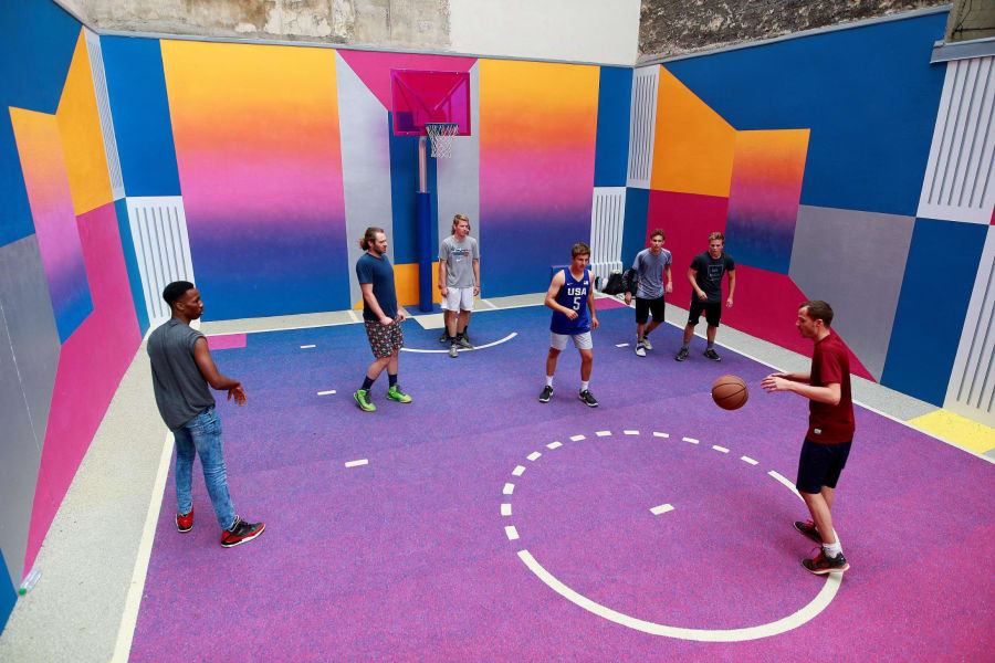 pigalle basketball court paris