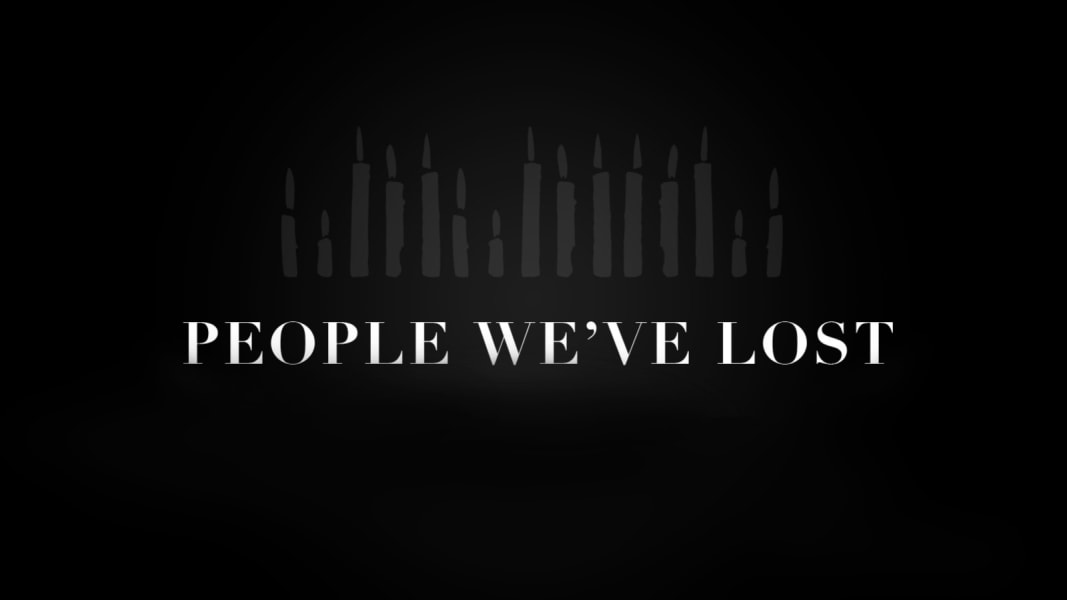 people we lost graphic - no year