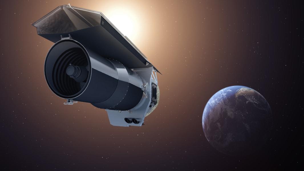 01 spitzer space telescope