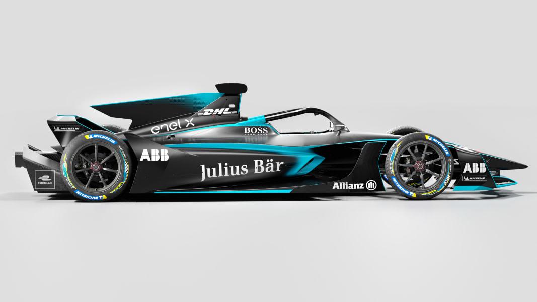 formula e new car