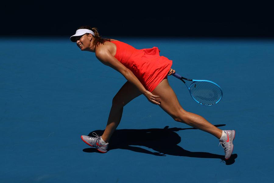 maria sharapova australian open 2020