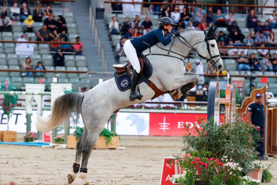 GCL of Doha - Team Paris Panthers - Penelope Leprevost (FRA) on GFE Excalibur de la Tour Vidal