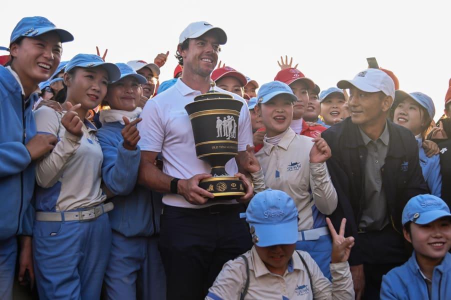 Rory McIlroy WGC Shanghai