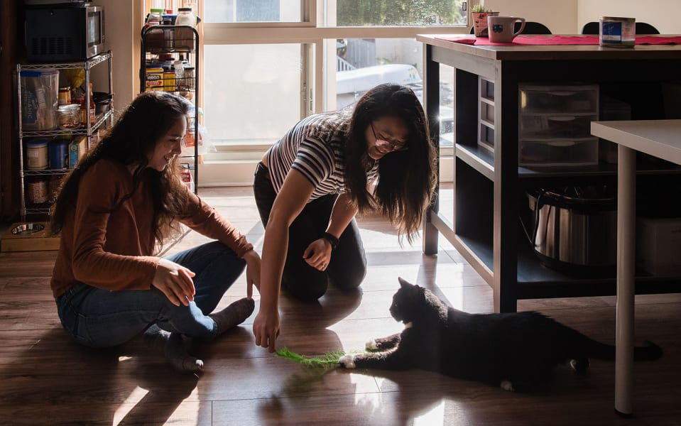 08 Coronavirus people adopting pets