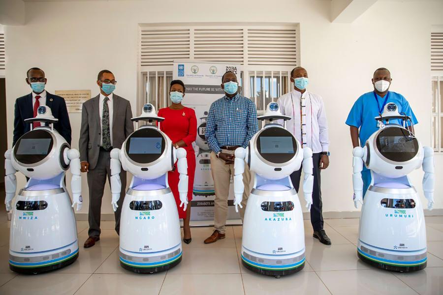 01 rwanda coronavirus robots
