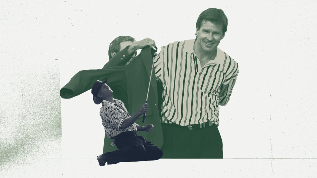 Nick Faldo graphic