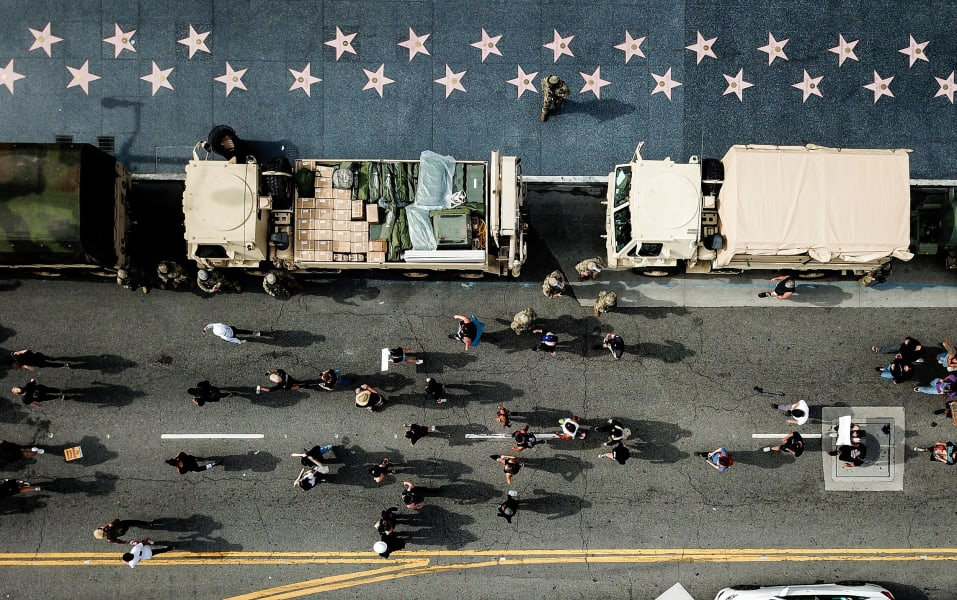 18 floyd protests 0602 los angeles