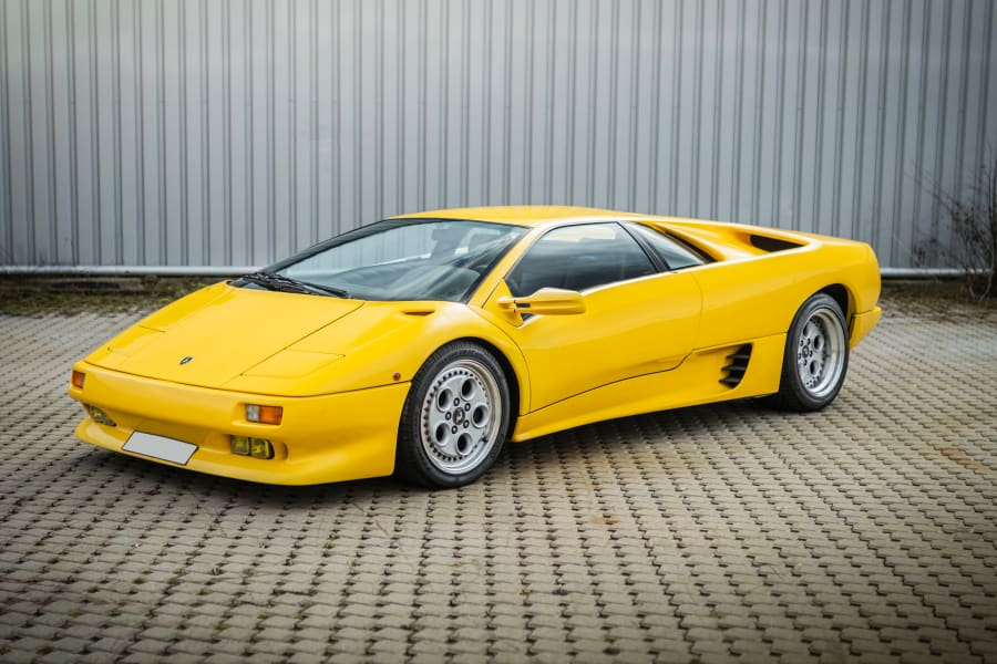 09 lamborghini auction 1991-Lamborghini-Diablo