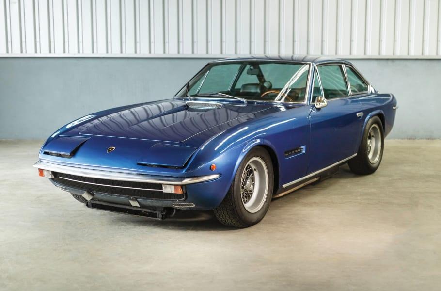 03 lamborghini auction 1970-Lamborghini-Islero-400-GTS