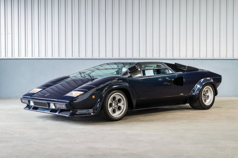 07 lamborghini auction 1979-Lamborghini-Countach-LP400-S