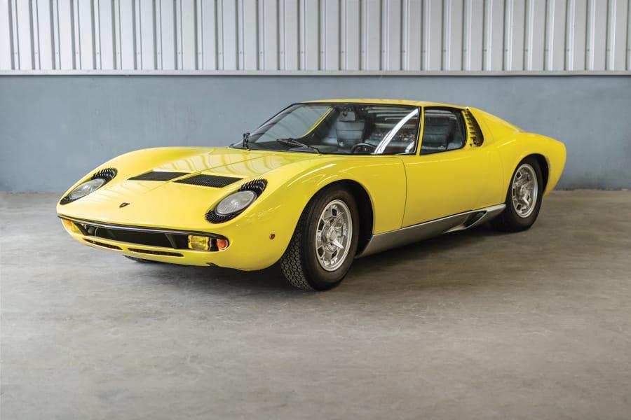 02 lamborghini auction 1968-Lamborghini-Miura-P400
