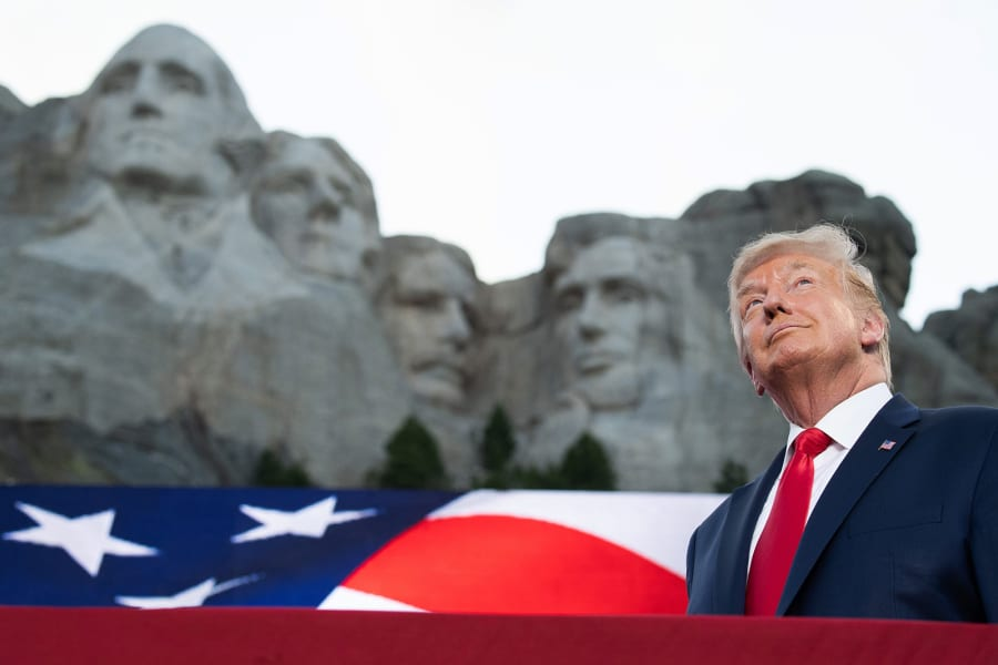 trump mount rushmore