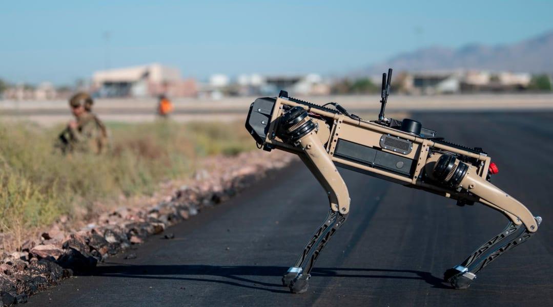 US Air Force robot dog 02