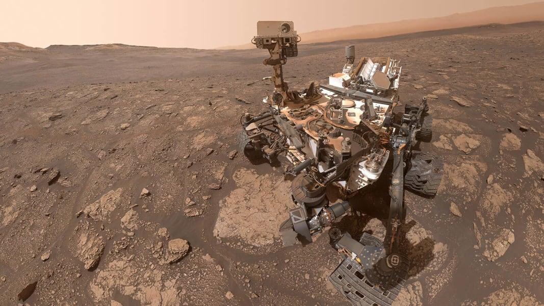 Curiosity Mars rover Mary Anning selfie