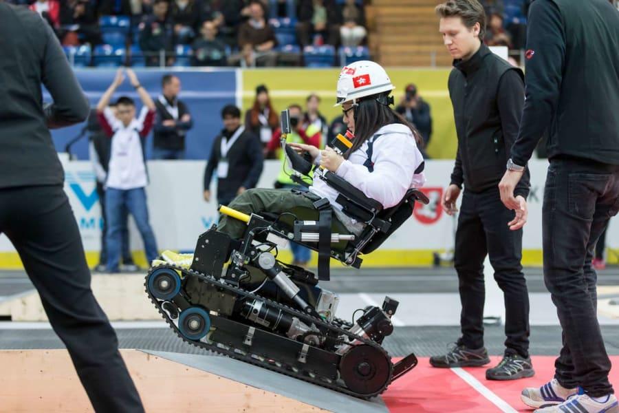 wheelchair cybathlon 2016
