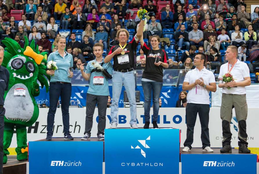 robert radocy arm race winner cybathlon 2016