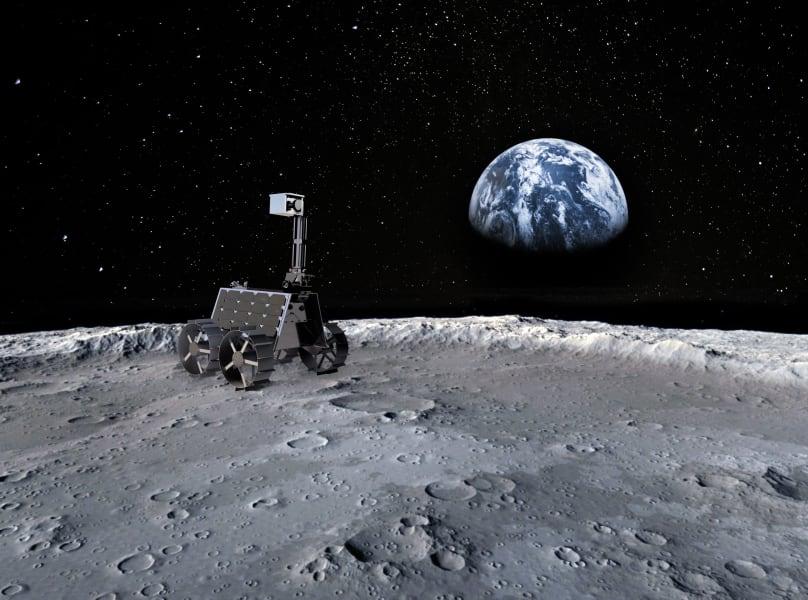 MBRSC lunar rover