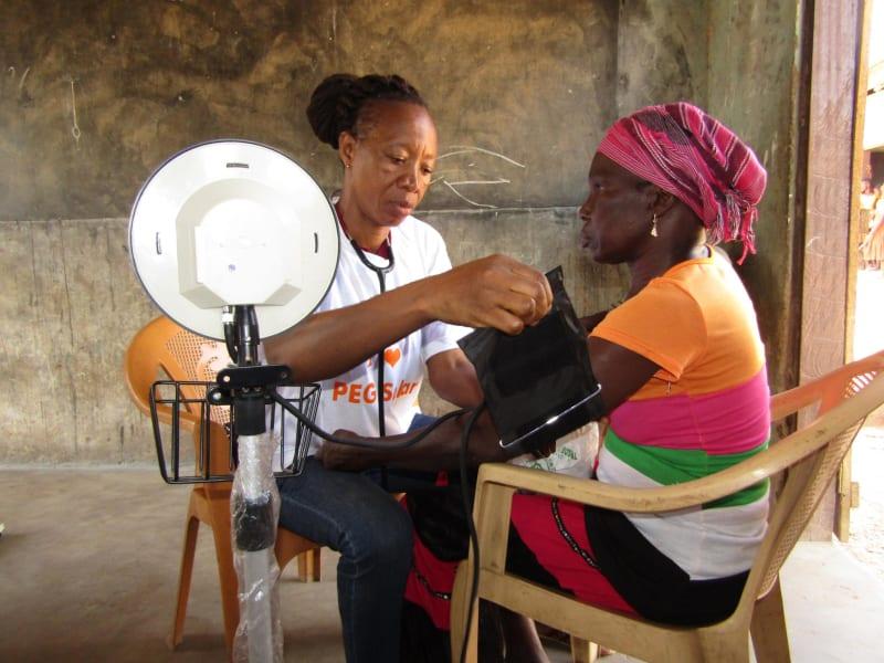 PEG Africa health screening