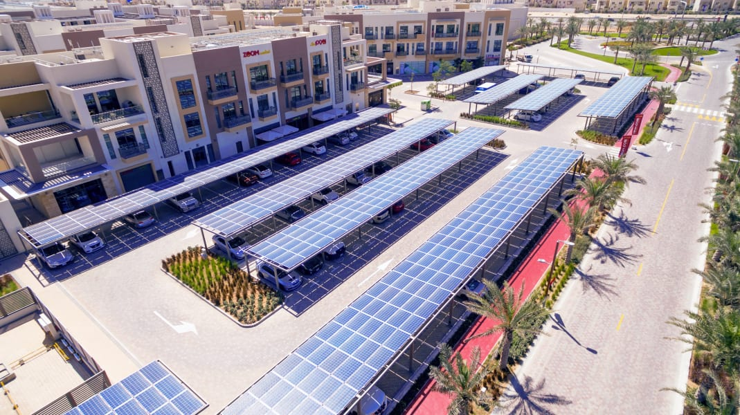 RESTRICTED Dubai Sustainable City solar roofs