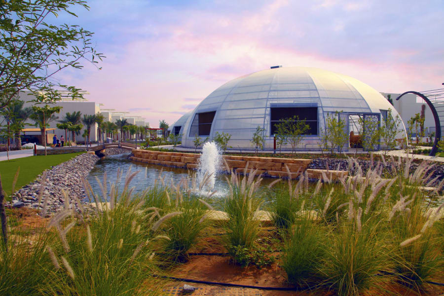 RESTRICTED Dubai Sustainable City biodomes