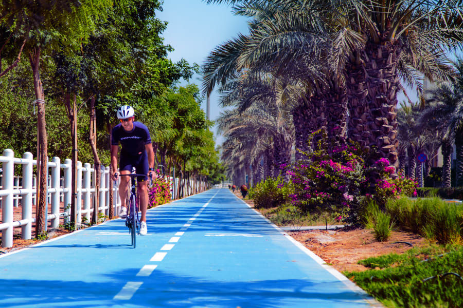 RESTRICTED Dubai Sustainable City cycle lane
