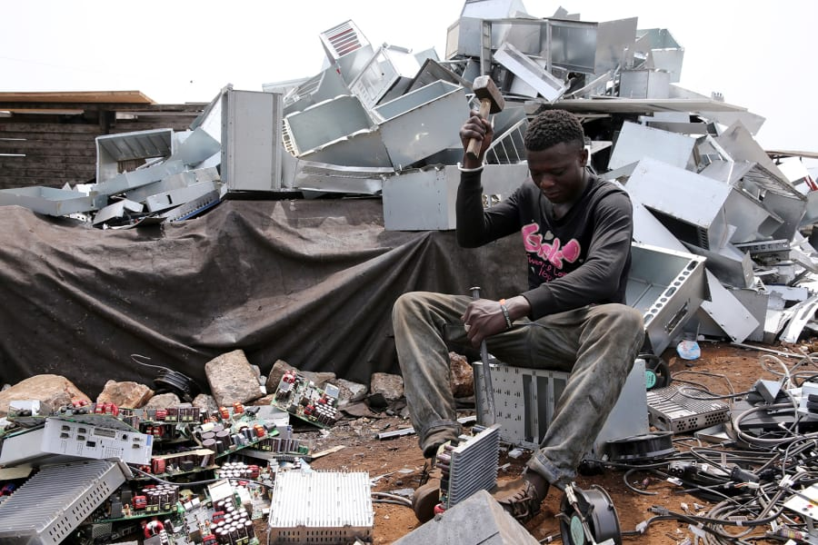 10 ghana electronic waste RESTRICTED