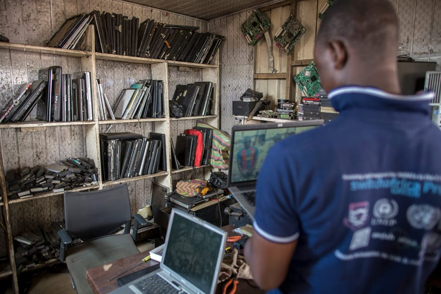 11 ghana electronic waste RESTRICTED