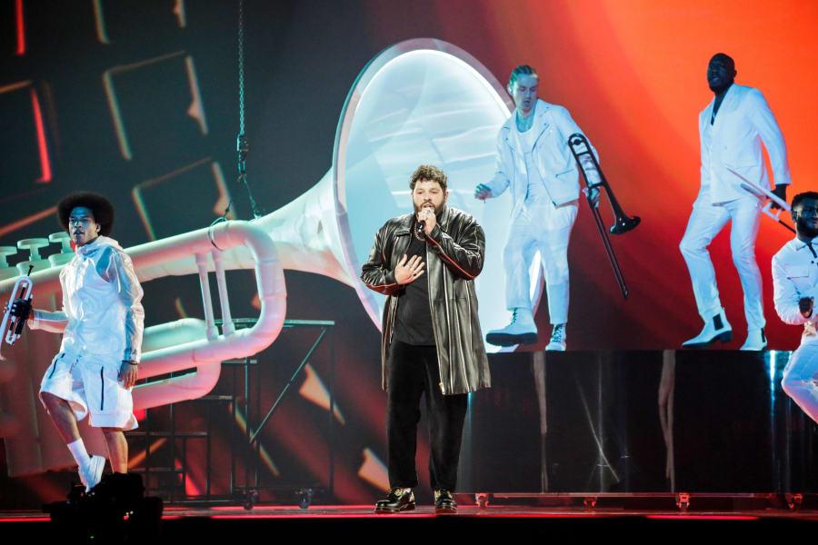 13 eurovision 2021 contestants_James Newman