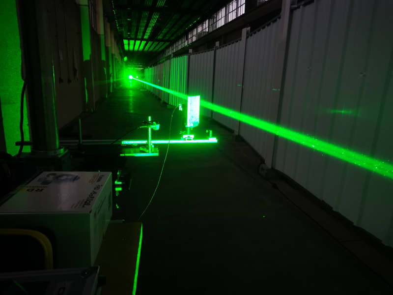 RESTRICTED wolf laser lightning paris test