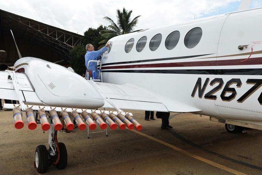 cloud seed plane bangalore