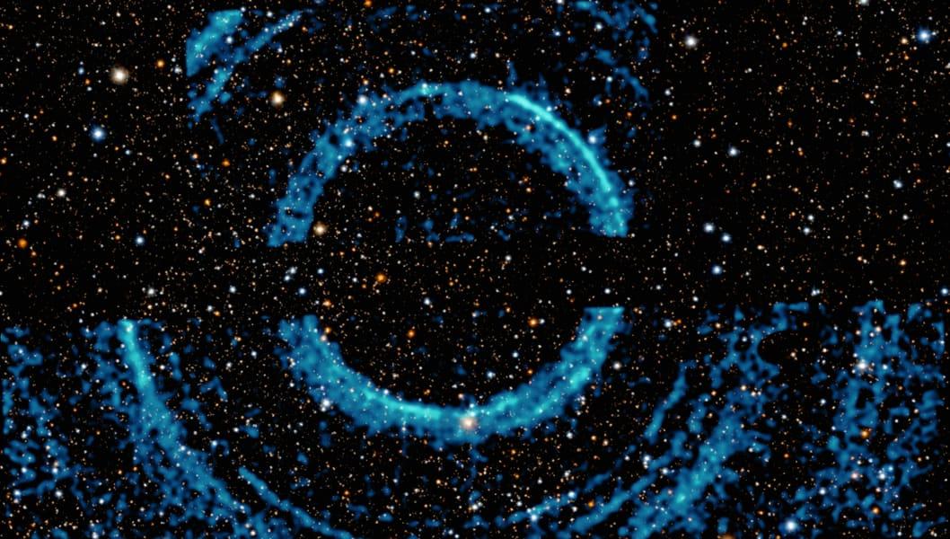 black hole rings chandra NASA