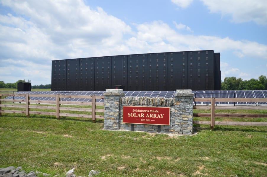 Beam Suntory Maker's Mark Solar Array RESTRICTED