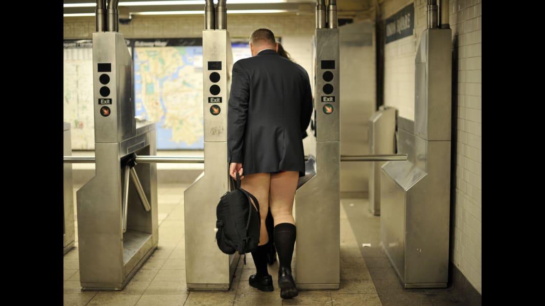 People shed pants for No Pants Subway Ride - CNN.com