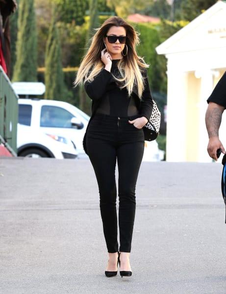 Khloe Kardashian Hot In Cleopatra Halloween Costume - Nude